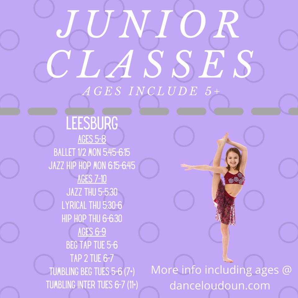 Junior classes leesburg 5-7.png