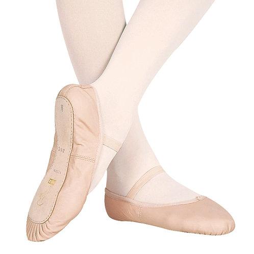 Girls BLOCH Belle Leather Ballet Shoes
