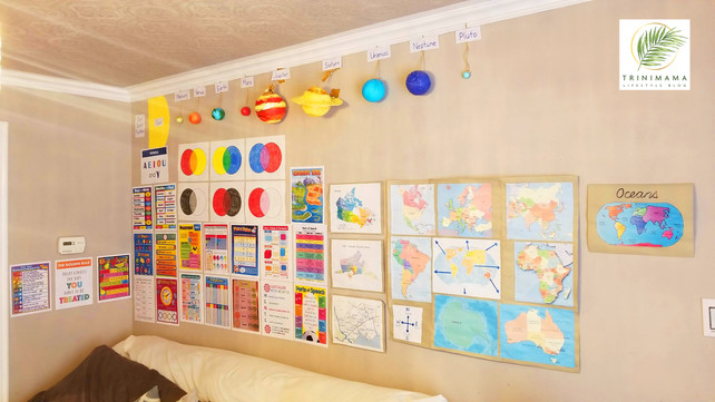How We Made A Classroom At Home