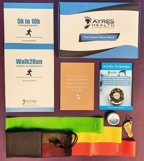 Ayres Health Cheshire - Foot & Lower Limb Specialists   5K To 10K Programme