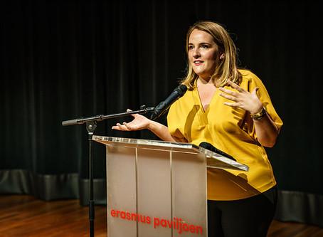 FEL-le vrouw: Ingeborg van der Ven
