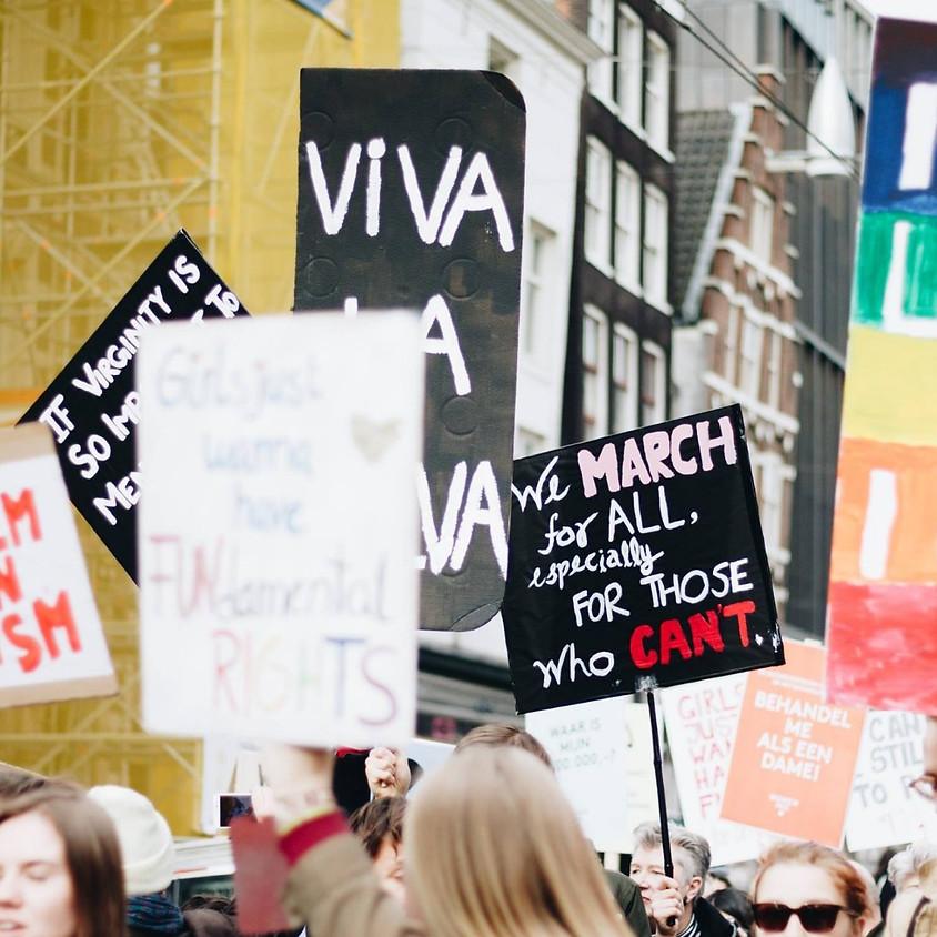 FEL x Women's March Amsterdam