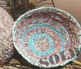Boho Bowl - Blue Rings