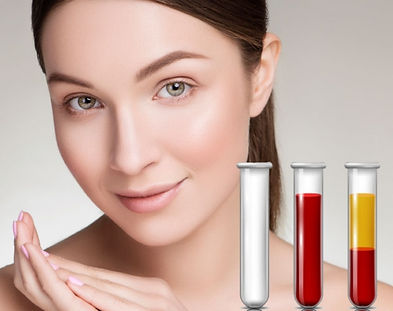 PRP Treatment for hair and face