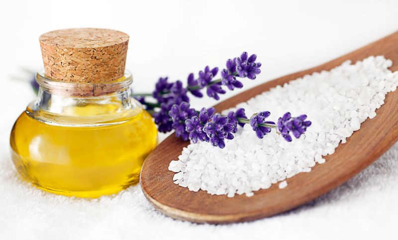 FOTO: Saunové soli vyhlazují pokožku