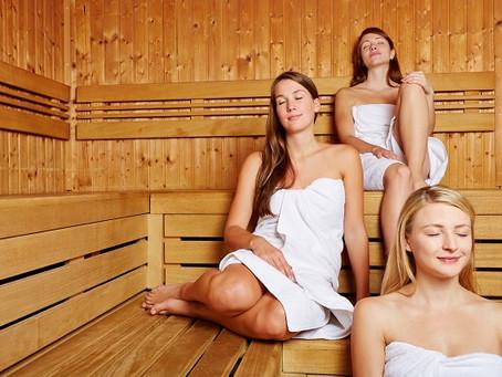 Vysoký nebo nízký tlak? Sauna může pomoci