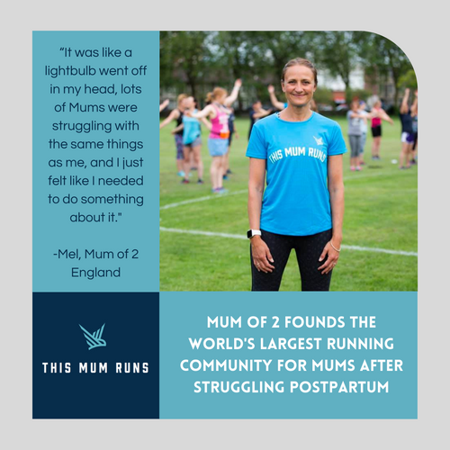 Mum of 2 Founds the World's Largest Running Community for Mums After Struggling Postpartum