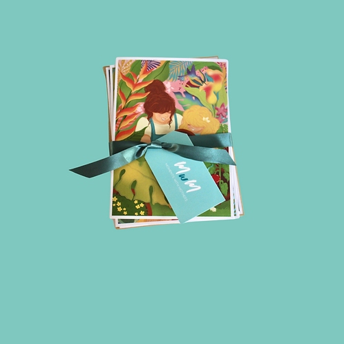 Tropical Mom Cards (Set of 3)