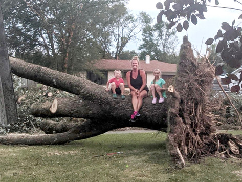 Derecho storms in Iowa force families to navigate 'dual-disasters'