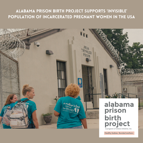 Prison Birth Project supports 'invisible' population of incarcerated pregnant women in the USA