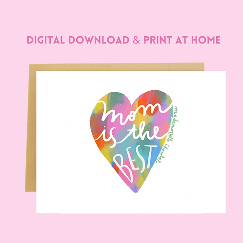 Download & Print Mother's Day Card (5)