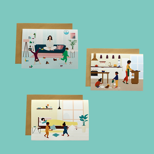 At Home with Mom (Set of 3)