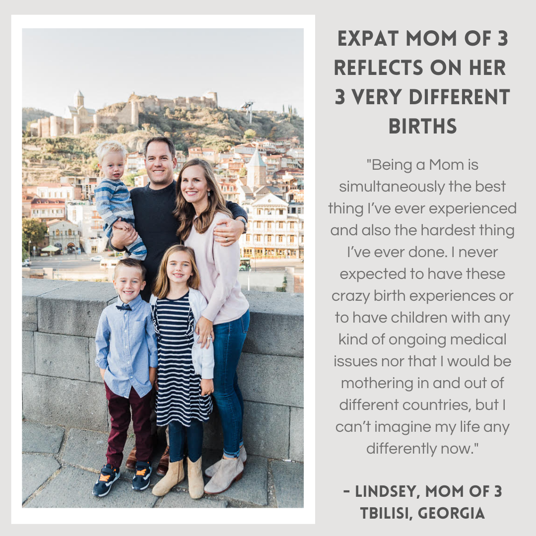 Expat Mom of 3 reflects on her 3 very di
