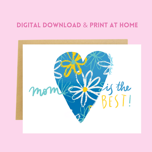 Download & Print Mother's Day Card (2)