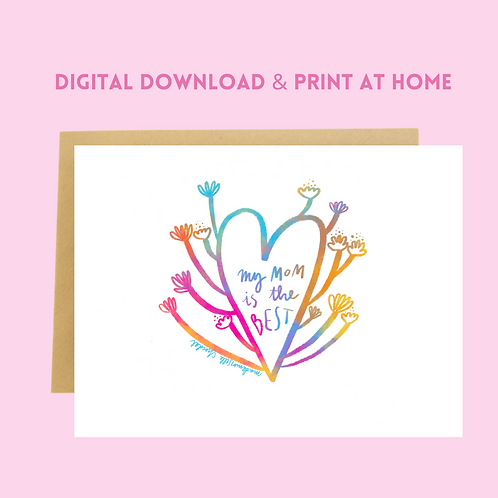 Download & Print Mother's Day Card (4)
