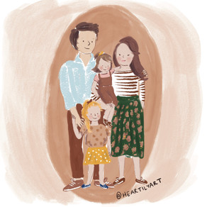 Heartily Art: Mom of 2 adds much needed humor into illustrations of typical parenting scenarios