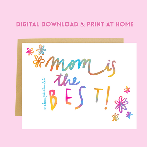 Download & Print Mother's Day Card (6)
