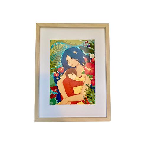 Tropical Mom Print (Digital Download)