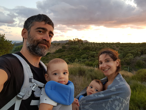 Greek Travel Blogger & Mom of Twins Reflects on Parenting During a Pandemic