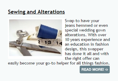 Swapsity Ad Listing 5