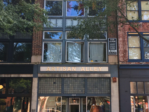 Artisan Alley, 323 W Broad Street!