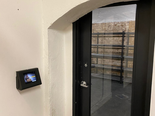 Luxer One Secure Package Delivery Room