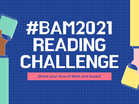 Take the #BAM2021 Reading Challenge