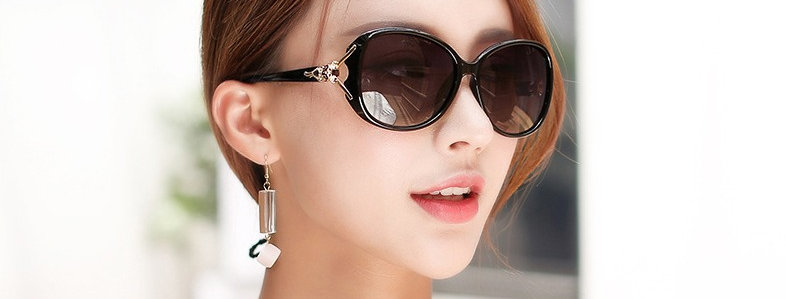 Round Face Polarized Ladies Sunglasses