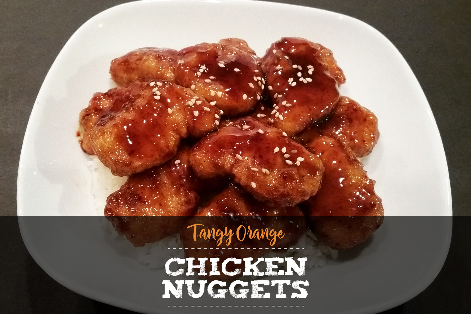 Tangy Orange Chicken Nuggets