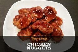 Tangy Orange Chicken Nuggets