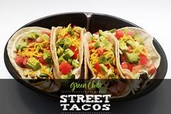 Green Chili Street Tacos