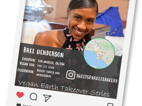Introducing our Vegan of the week.....Bree!🌎💖🌱