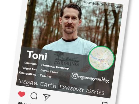 Introducing our Vegan of the week.....Toni!🌎💚🌱