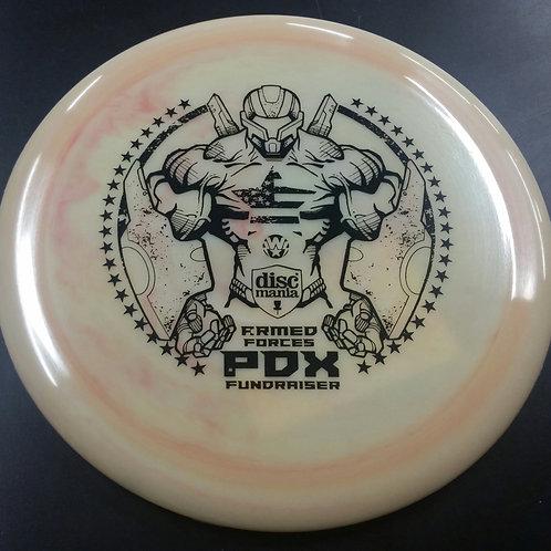 LE Les White Design Swirly Discmania S-Line PDX