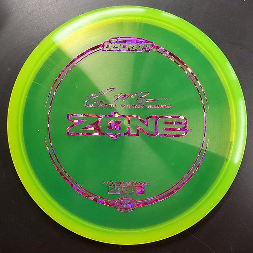 Paul McBeth 5X World Champion Z Zone