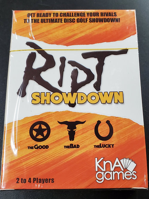 RIPT SHOWDOWN Deck of Cards - The Good, The Bad, The Lucky