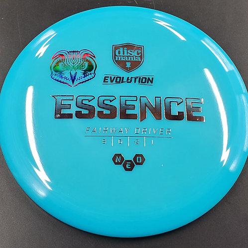 Skeet Scienski Sandy Knoll Owl mini stamped  Evolution NEO Essence