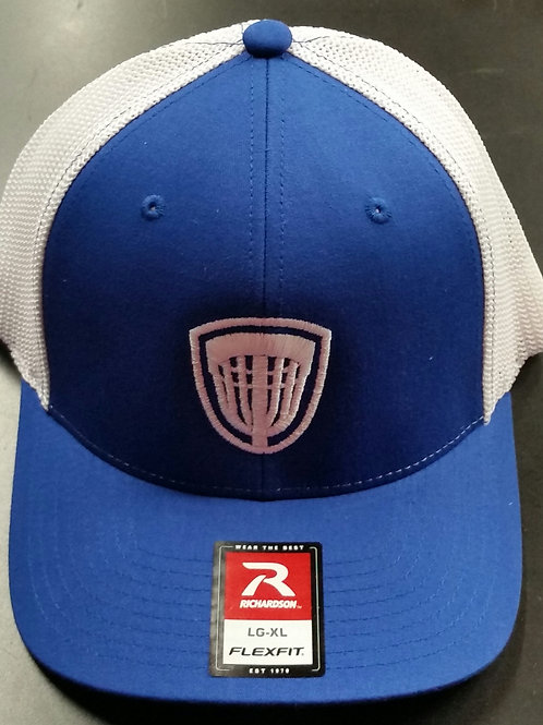 Blue/white Flex Fit Riverside Hat