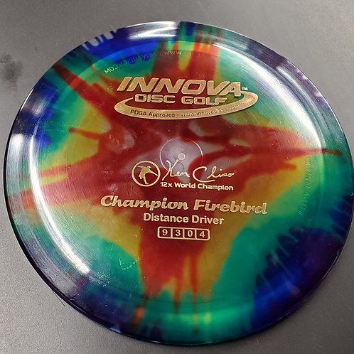 12X World Champion Ken Climo Idye Champion Firebird