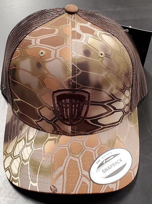 Riverside Kryptek Snap Back Basket Hat