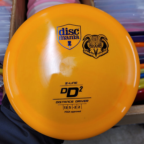 New Discmania Old Stamp Penned S-DD2 Bottom S-Line DD2 171G Sandy Knoll Mini