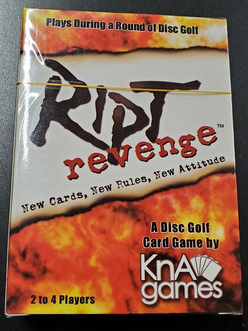 Brand new, sealed one desk of RIPT REVENGE cards