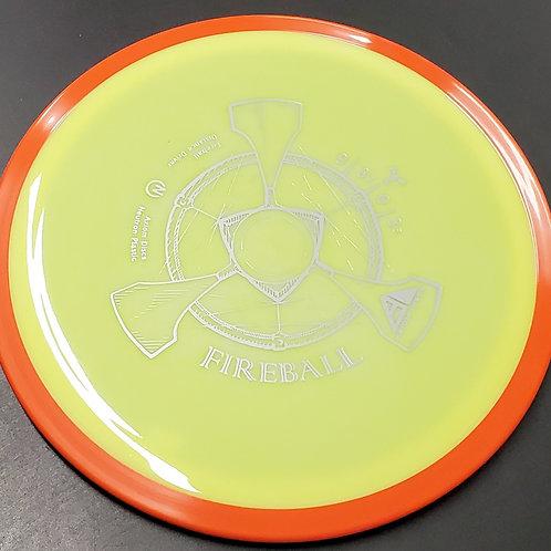 Axiom Discs Fireball in Neutron Plastic