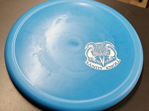 Flat Top DX Rhyno w/ a Skeet Scienski Sandy Knoll Owl mini stamp