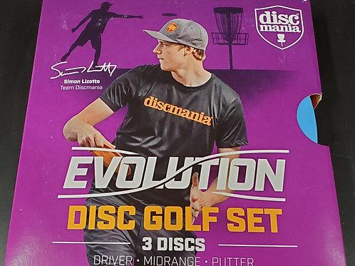 Discmania Evolution 3-Disc Box Set