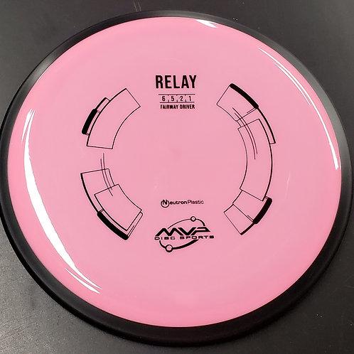 MVP Relay in Neutron Plastic