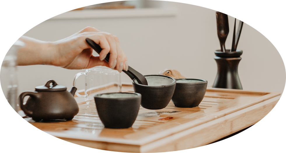 Introduction to the tea (tasting session)