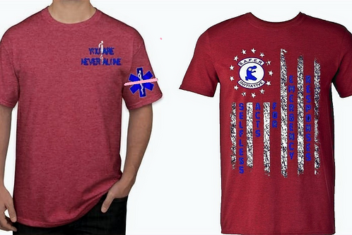 SAFER Charity Shirt in Red Or Black