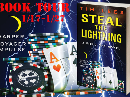 Book Tour: Steal the Lightning by Tim Lees