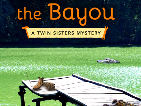 Cover Reveal: Dead on the Bayou by June Shaw